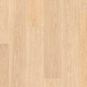 Biele lakované dubové dosky