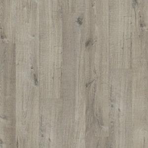 Dub sivá bavlna so stopami po píle